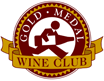 gold metal wine club