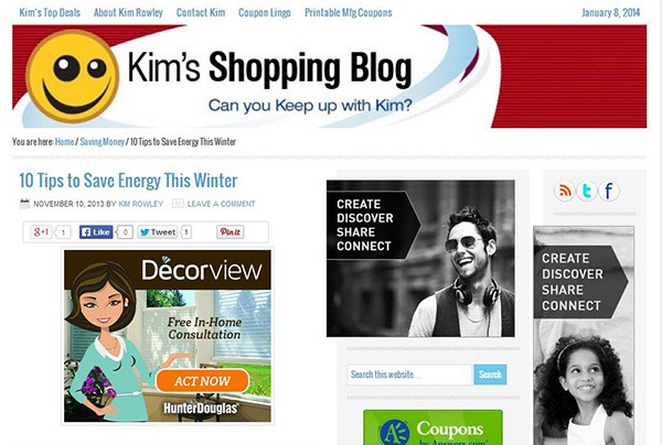 Kim's Shopping Blog