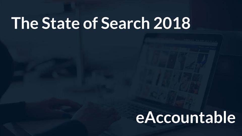 State of Search 2018